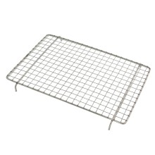 Party Griller 8 x 12 Inches Stainless Steel Mesh Grill Grate