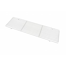Party Griller 8 x 32 Inches Chrome Metal Straight Grid Grill Grate