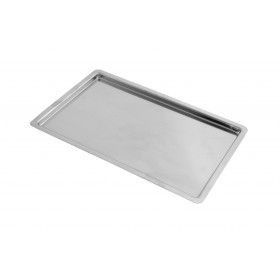 "Party Griller 8""x12"" Stainless Steel Warming Plate for Yakitori Barbecue Grills"